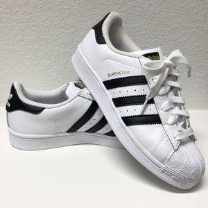 Adidas superstar size 6.0 women's